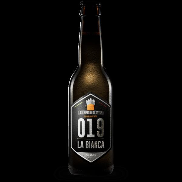 bottiglia birra artigianale 33 cl bianca