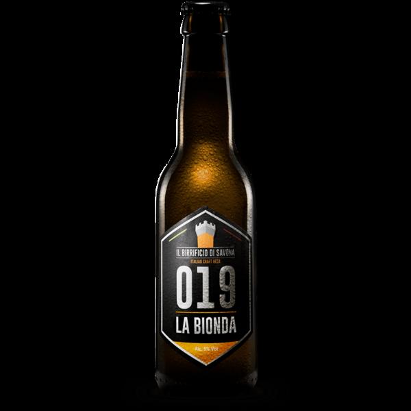 bottiglia birra artigianale 33 cl bionda